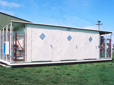 Hazardous Waste Storage Building