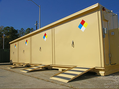 Chemical Storage building